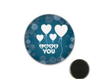 Magnet wedding Love o32mm