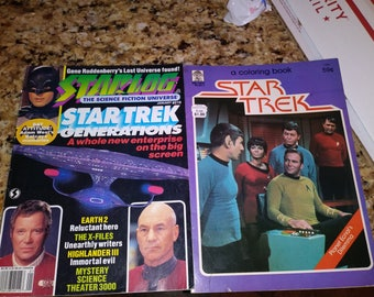 Starlog January #210 Star trek edition