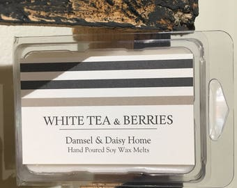 White Tea & Berries Wax Melts
