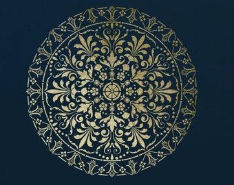 Mandala  Wall Stencil   ST90