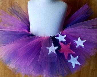Twilight Sparkle inspired tutu my little pony inspired tutu pink purple navy blue tutu infant tutu toddler tutu fairy tutu