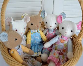 PDF sewing pattern soft toy Stuffed doll Plushie       'Saxon Bear'