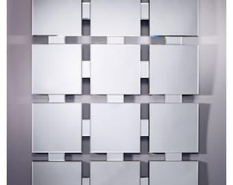 Mirror DESIGN TWELVE Modern contemporary rectangular natural 90 x 122 cm