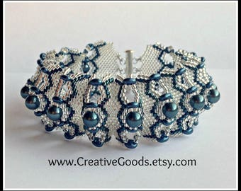 Absolem Bracelet Pattern - Tutorial - Instructions - Beading Pattern