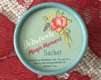 1950 Fuller Brush Debutante Magic Moment Sachet
