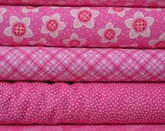Pink fat quarter bundle