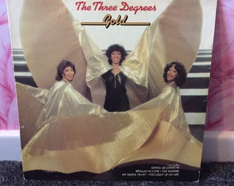 The Three Degrees 'Gold' Vinyl