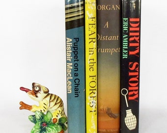 4 Novels with Dust Jackets from the 1960's