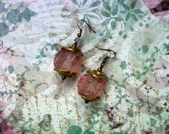 Pink Ice Earrings (1623)