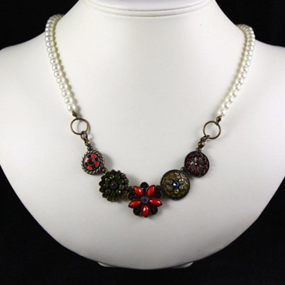 Vintage Eclectic Necklace