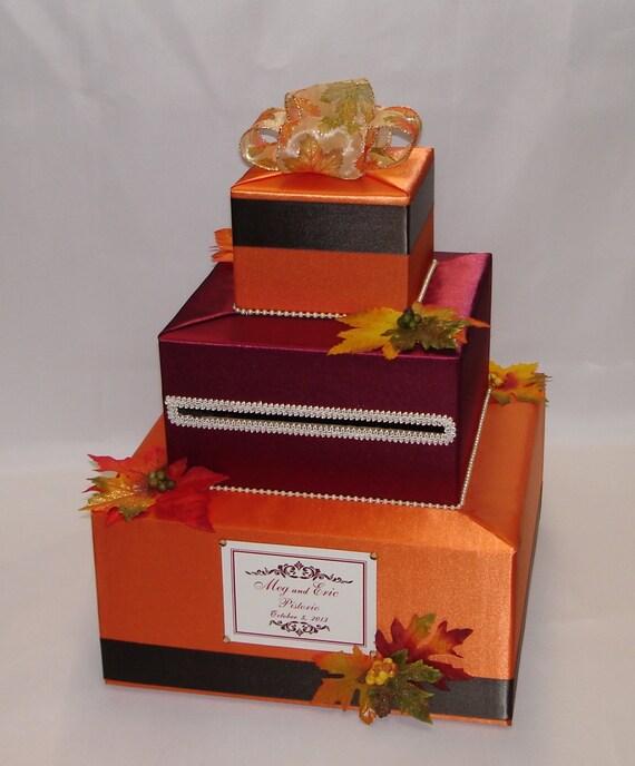 Fall Wedding Card Box Ideas