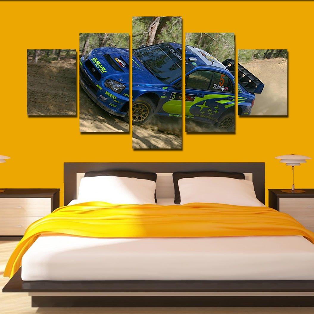 Subaru Impreza wrx Canvas Art Subaru poster Subaru print 5