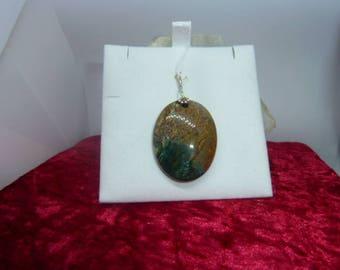 Genuine Jasper pendant