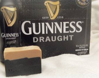 Select 2 or 3 Beer Soaps made with Guinness 4.25oz to 4.5oz each Made to look like a pint of Beer with a head. Man soap Guy