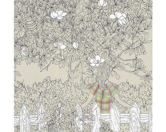 "10 x 13 Print ""Magnolia"""