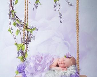 Baby Swing, DIGITAL BACKDROP for newborn photography, Newborn Digital Backdrop Instant Download, wooden swing for newborn