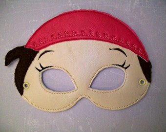 Child's Mask - Pirate Girl - Izzy