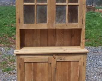 hutch featured custom amish made flea market reclaimed in hutches style barnwood
