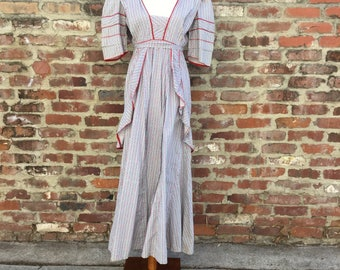 Country Cutie in this cotton maxi dress