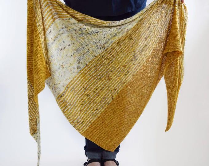 Featured listing image: Daylight Fading Shawl Pattern