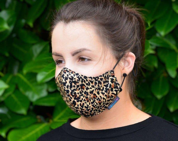 MASKERAID® Animal Print Reusable Cotton Face Mask