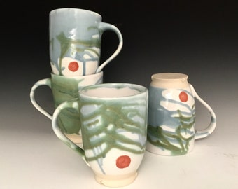Mug: Ocen Abstract Design