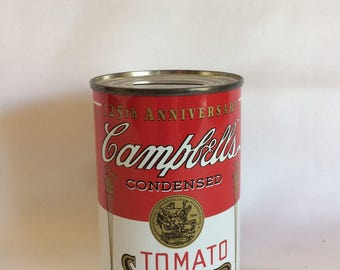 Vintage Campbell's Soup Bank 125th Anniversary