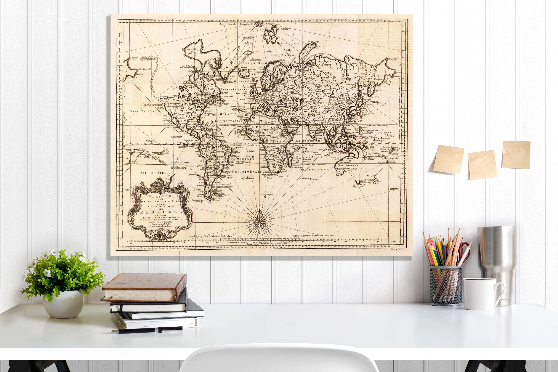 World Map World Map Canvas World Map Wall Art World Map