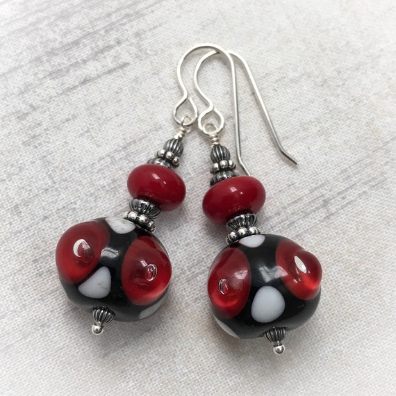 Art Glass Earrings 3