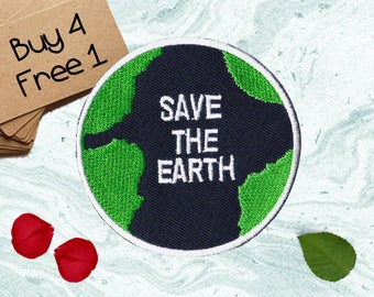 Globe Patches Nature Patches Iron On Patch Sew On Patch Patches For Backpacks