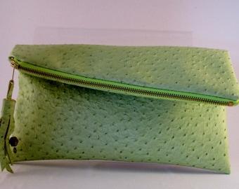 Limited edition Handmade Purse, Handbag, Clutch, Foldover
