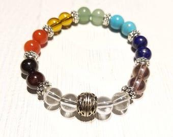 Chakra Balancing Gemstone Bracelet