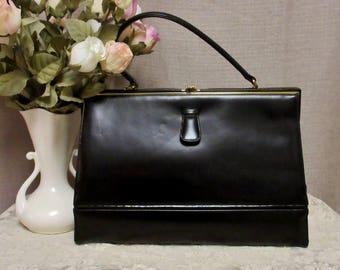 Vintage Mid-Century Handbag, c1950s;Vintage Purse