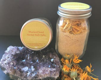 Mustard Seed Herbal Bath Salts