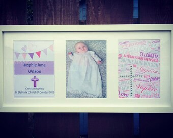 3 Tiered Christening Frame