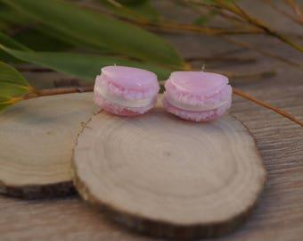 Macarons earrings