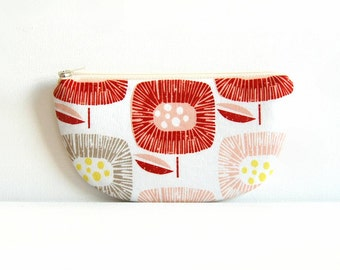 Small Zipper Pouch, Women and Teens, Mini Wallet, Gift For Her, Change Purse, Skinny LaMinx Around The Block