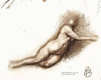 Female nude CHINA