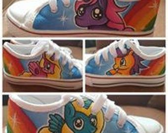 childrens size 11 unicorn shoes