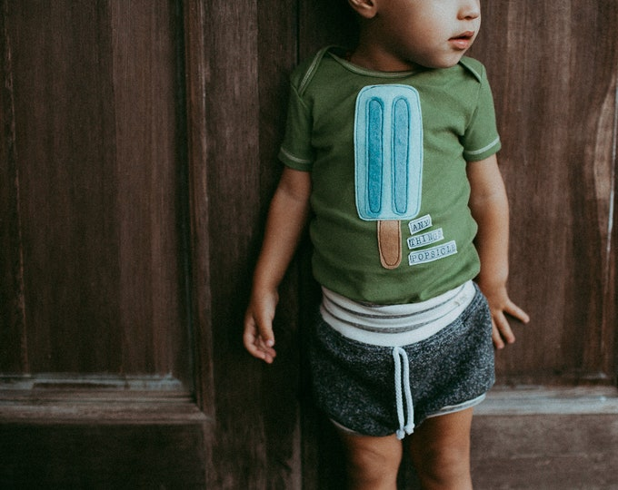 "Swanky Shank Hand Dyed Tee or BS ""ANY THING is Popsicle"""