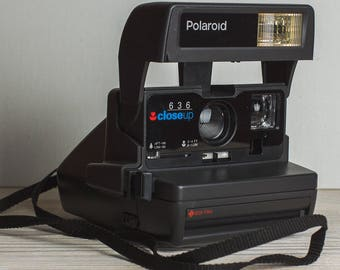 Polaroid Close Up 636 Polaroid Camera Vintage Camera Retro Camera Christmas xmas gift for photographer Gift for him film 600