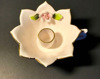Holt Howard 1960 Rose Candle Holder