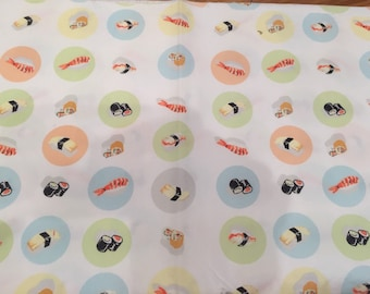 Heather ross munki sushi fabric