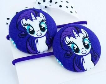 rareity hair elastics hair ties for little girls hair accessories