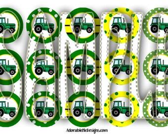 Tractor Bottle Cap Images Digital File