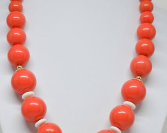 Lovely large beaded necklace
