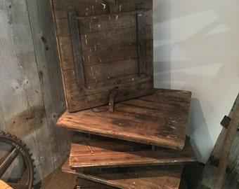 Antique Reclaimed Silo Doors