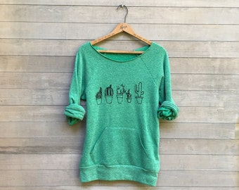 not so needy Cactus Sweatshirt, Cactus Shirt, Plant Lady, Gift for Mom, Plant Mom