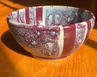 Fruity handmade bowl