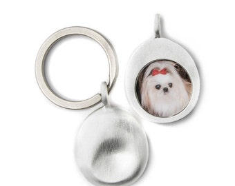 Custom Pet Photo Keyring (M)